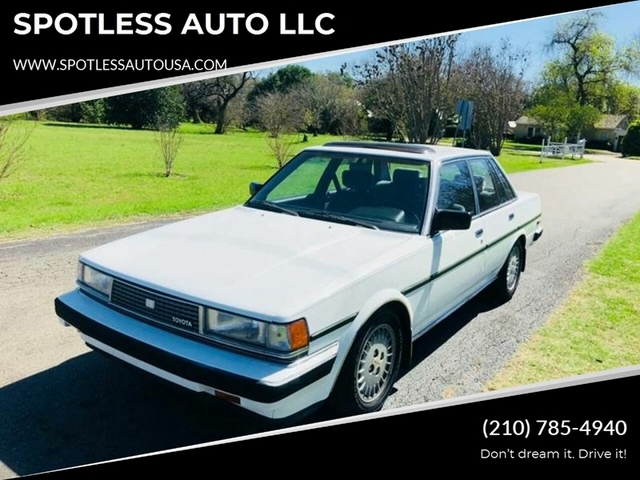 1986 Toyota Cressida Luxury